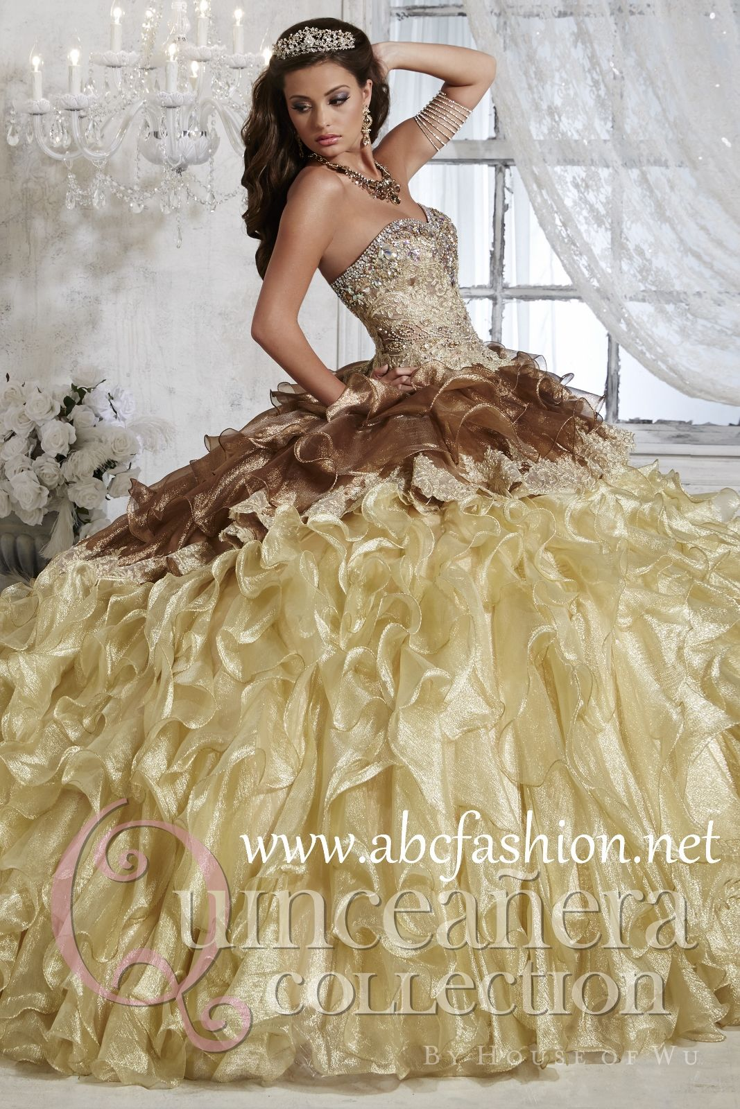 a1107fd894c House of Wu Quinceanera Dresses and Gowns Style 26794 House of Wu  Quinceanera Collection Spring 2015