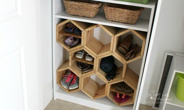 Shoe Storage Projects for Small Spaces Storage, Organizing and