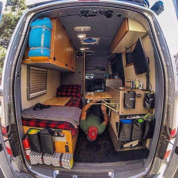 Camper Van Conversion 00058