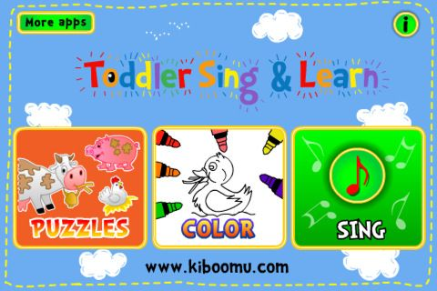 Toddler Sing  Learn-$199-Music App- Puzzle, color, and sing along - spreadsheet app free ipad