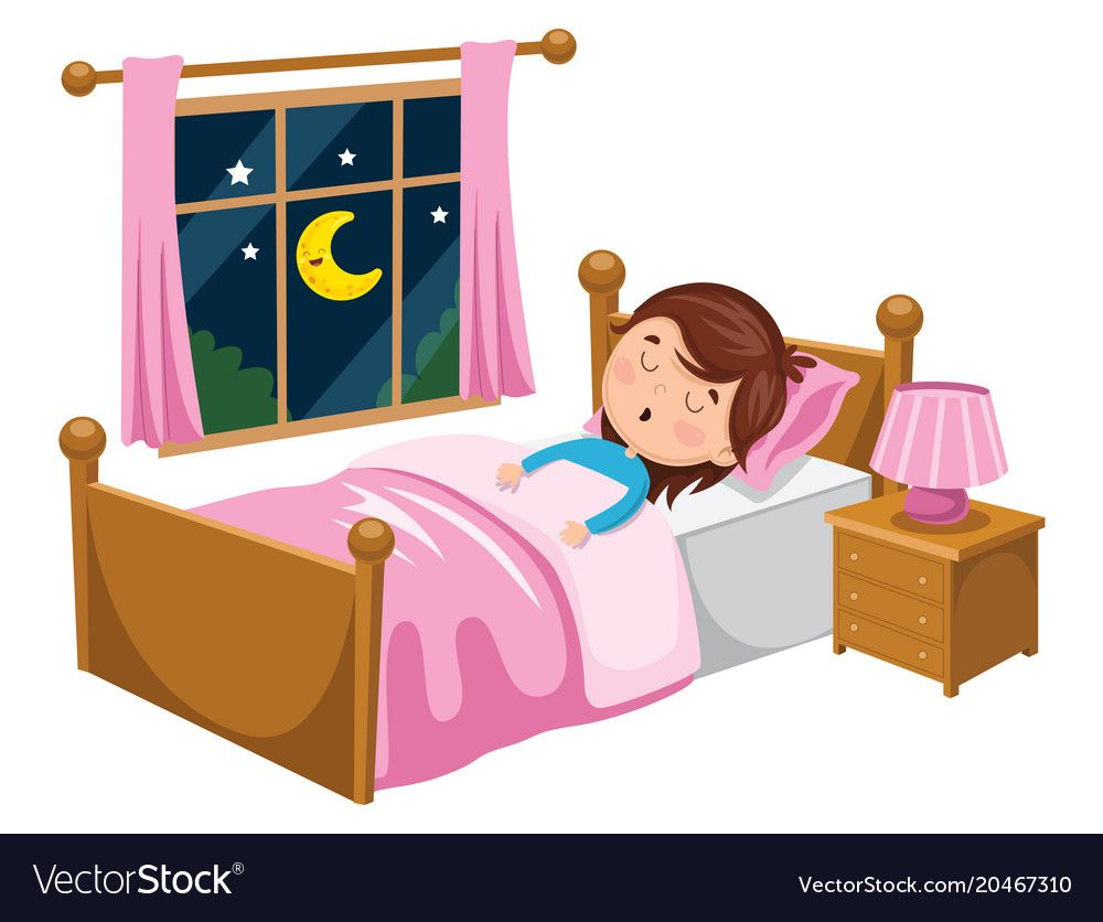 Kid Sleeping Vector Image On ก จกรรมสำหร บเด ก ศ ลปะอ สลาม ม น
