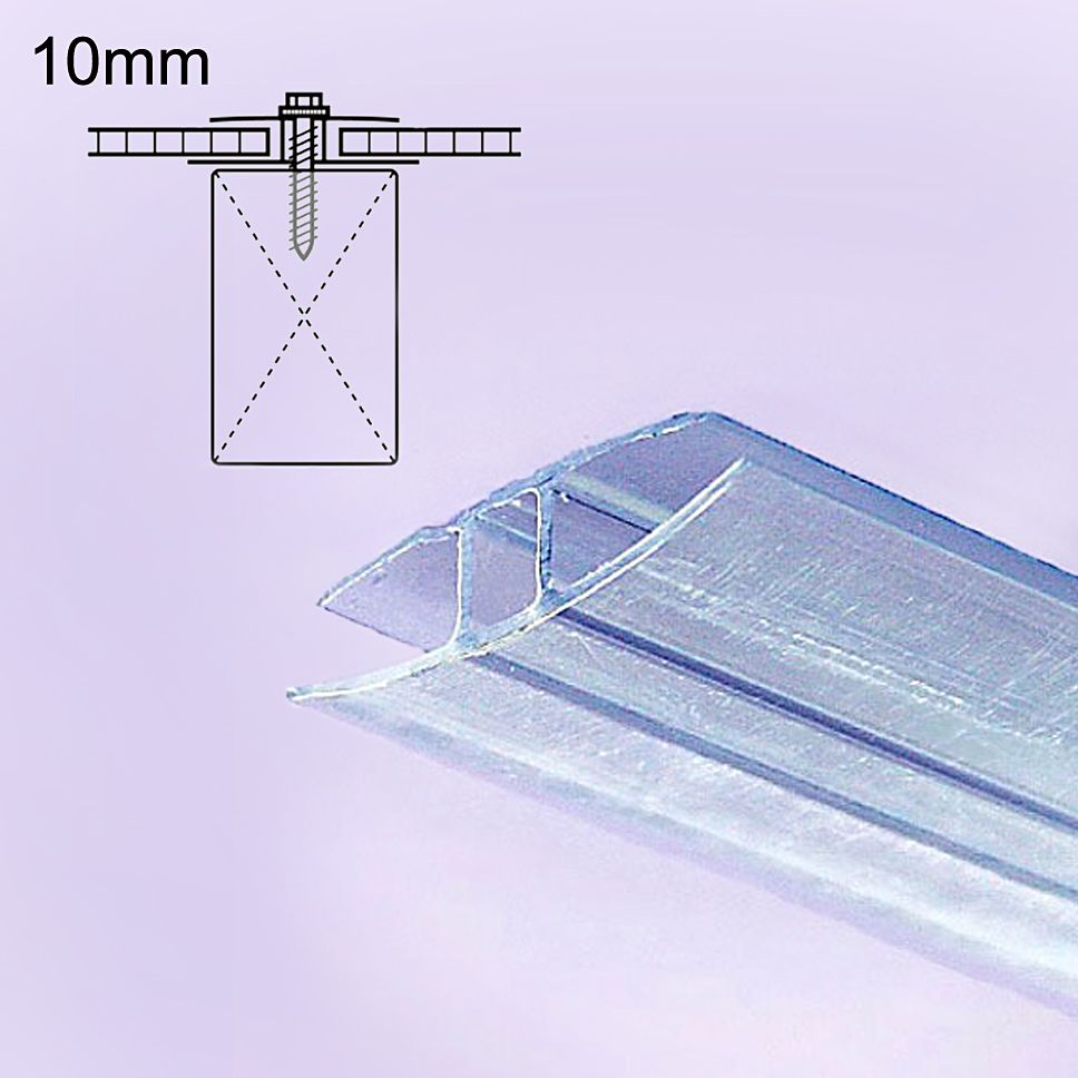 10mm Polycarbonate Joiner Cap Clear 12 Ft In 2020 With Images Polycarbonate Roof Panels Polycarbonate Joiner