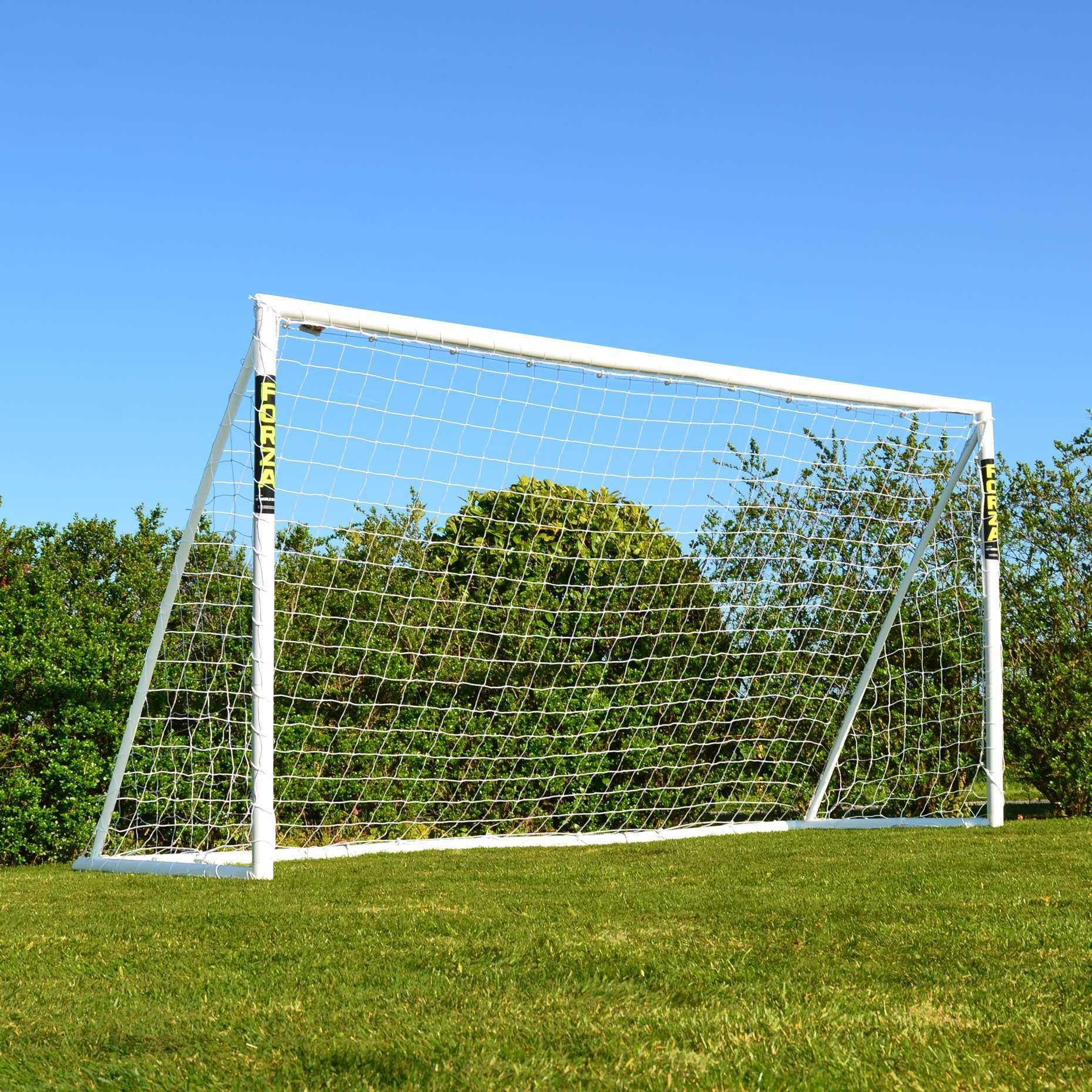 a98fd72e2 12 x 6 FORZA Soccer Goal Post | Mini-Soccer Goals | Junior Soccer Goals |  PVC Backyard Goals | Net World Sports USA