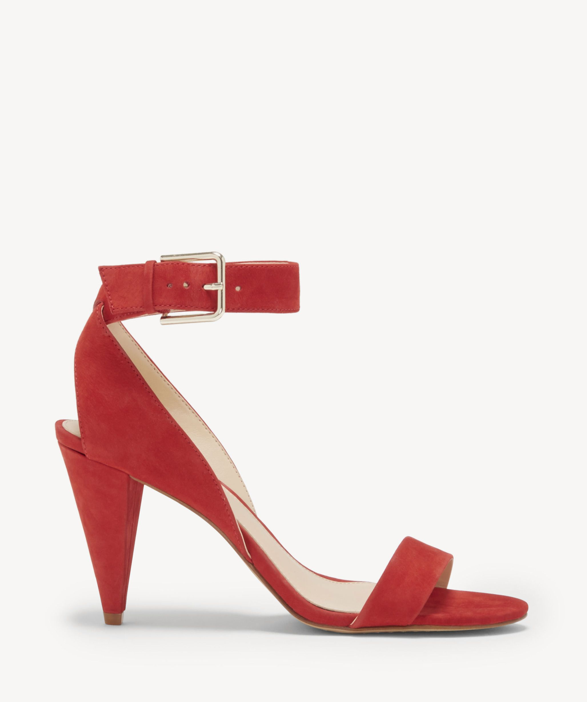 4040eda1710 Vince Camuto Women s Caitriona Ankle Strap Sandals In Color  Cherry Red