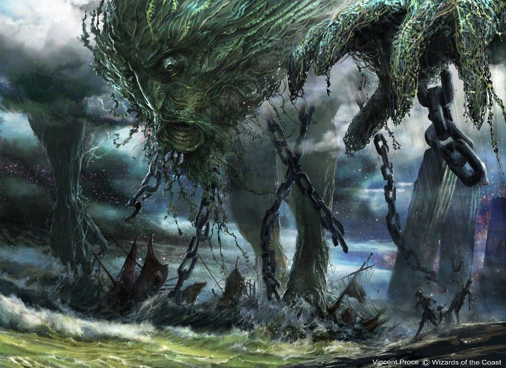 Vincent Proce Art: Uro | Mtg art, The gathering, Fantasy beasts