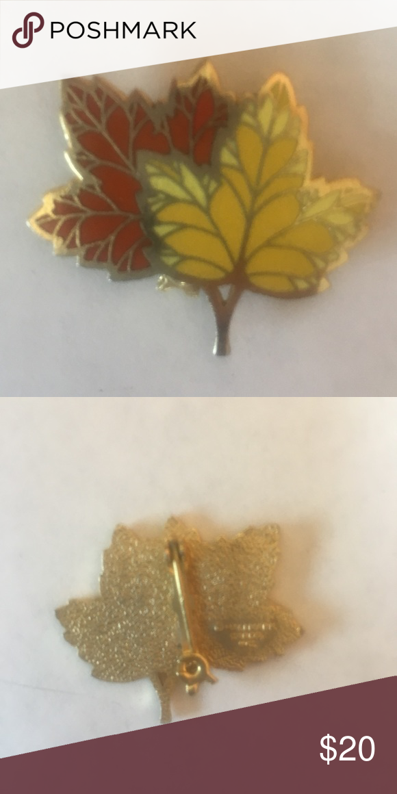 3717f8a39 Rare hallmark maple leaf brooch pin This Hallmark pin is in excellent  condition and great for the fall! Hallmark Jewelry Brooches
