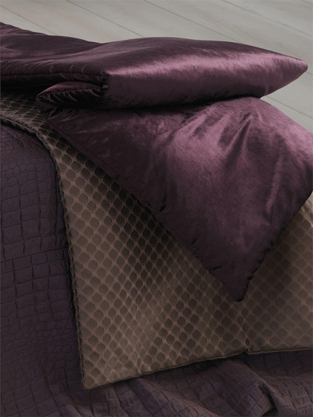 Dramatic purple comforter. Lizzo Mimic Collection lizzo