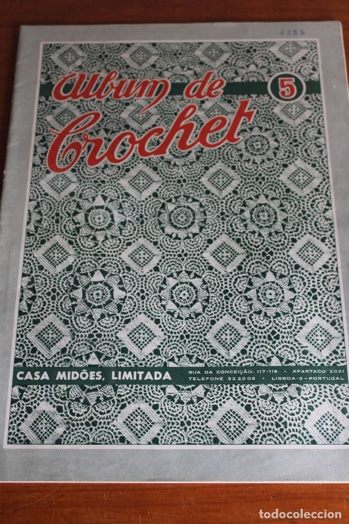 ALBUM DE CROCHET, CASA MIDOES LIMITADA, LISBOA , PORTUGAL