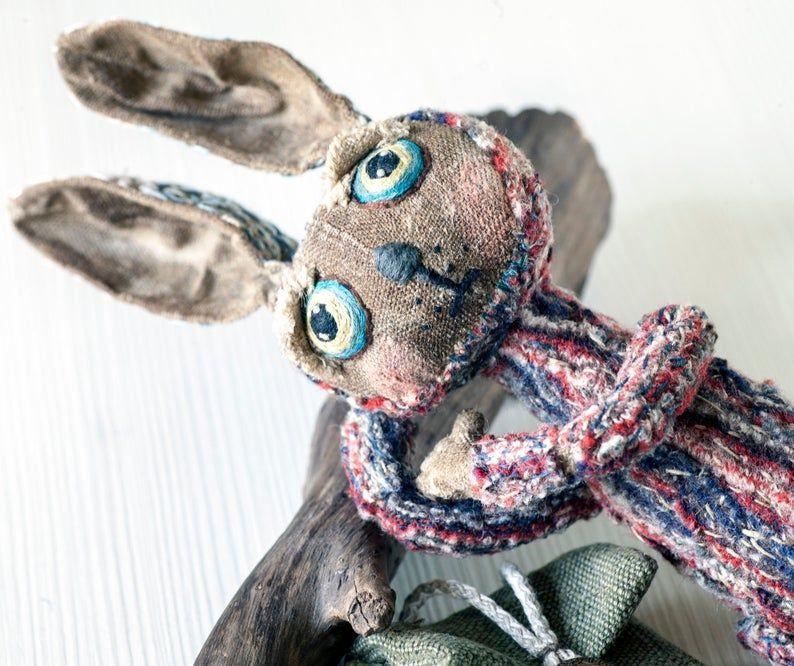 BUNNY by KTZAY Rabbit siliconvalley ブライス bohoSTYLE   Etsy
