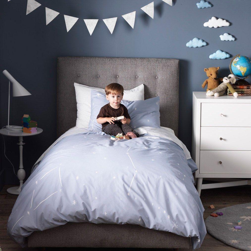 DwellStudio Kids Bedding Galaxy Dusk Duvet Set
