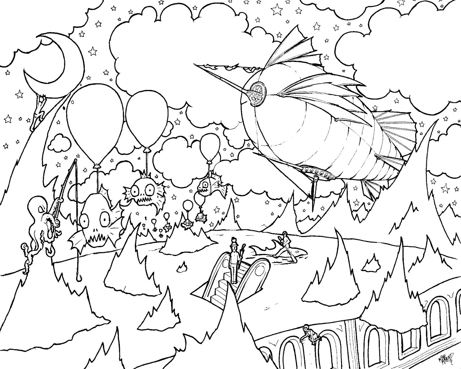 Psychedelic Coloring Pages - Bing Images | Coloring Sheets ...
