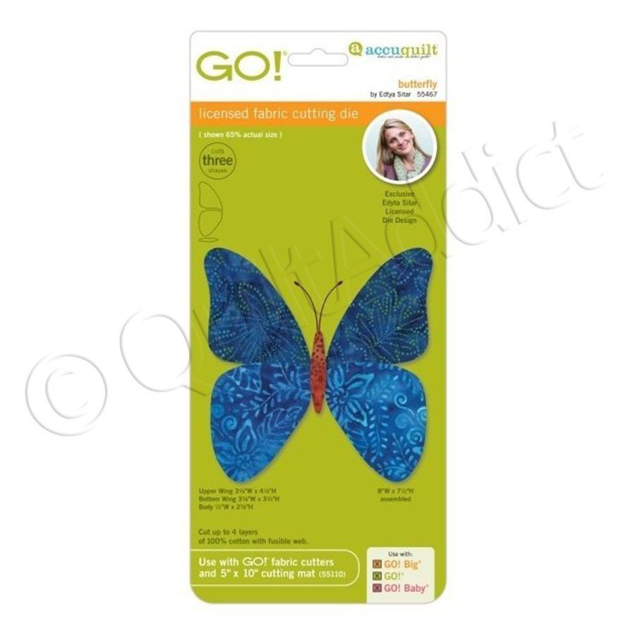 Accuquilt Go! Butterfly, #55467