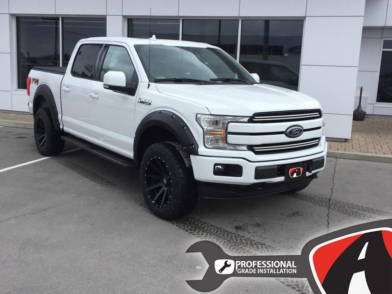 2018 F150 Upfitted With A Front And Rear Leveling Kit From Ready