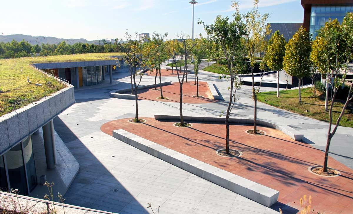 Cultural Plaza Park 20 Landscape Architecture Works Landezine Arhitektura Prostranstva Muzej