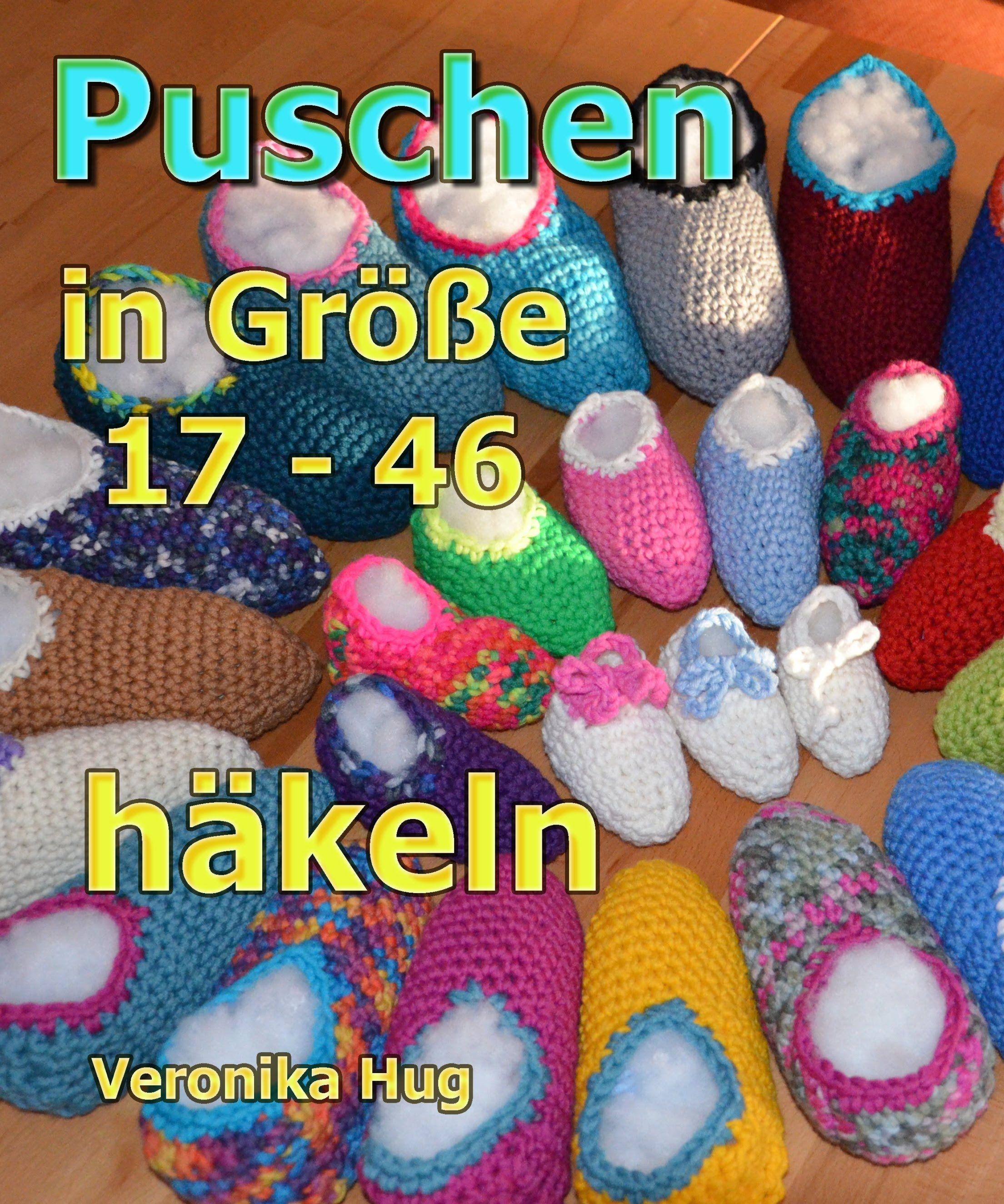 Puschen Häkeln In Größe 17 46 Veronika Hug Video Pinterest