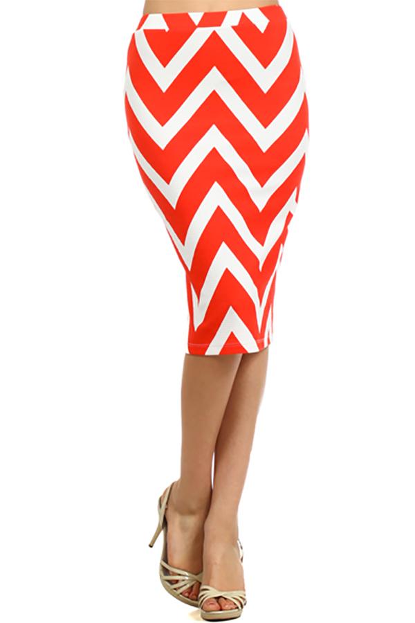 Vault Denim Distributor Resources Striped skirt pencil