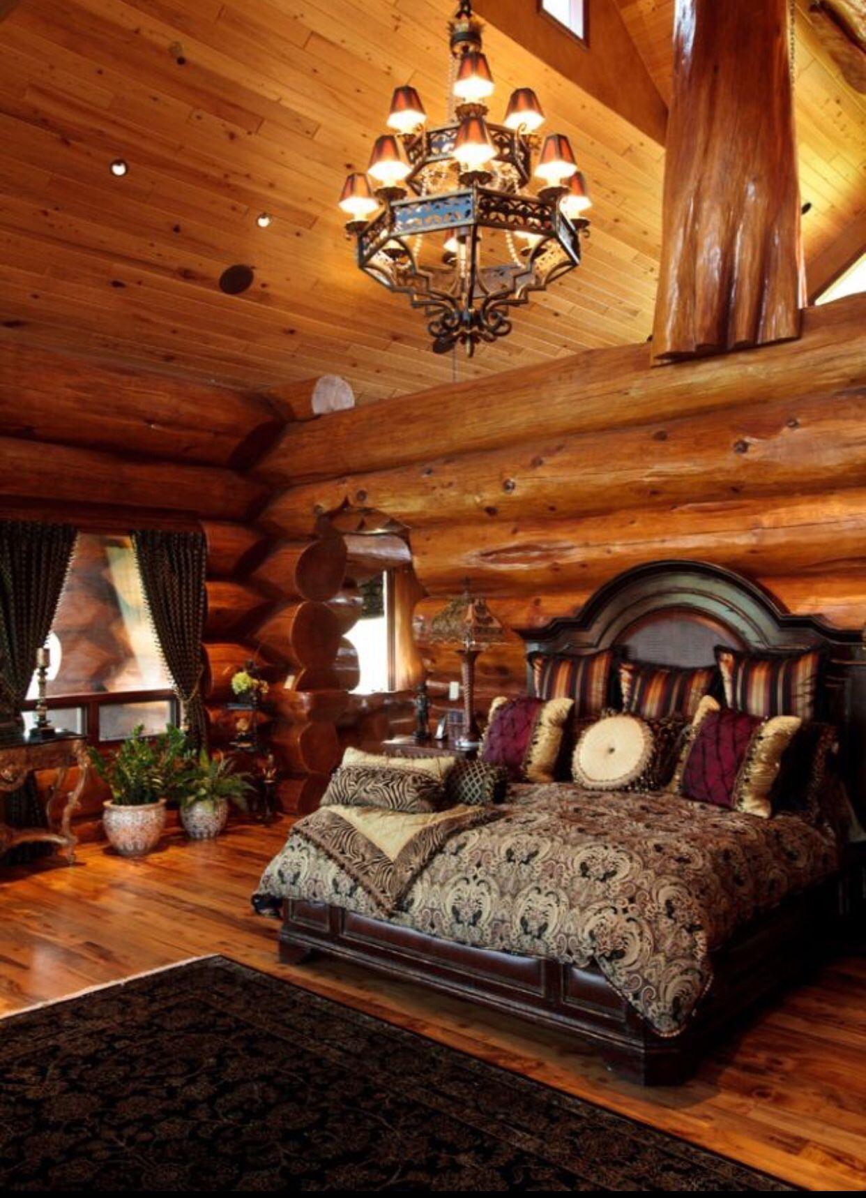 My room Log home bedroom, Log cabin bedrooms, Home bedroom