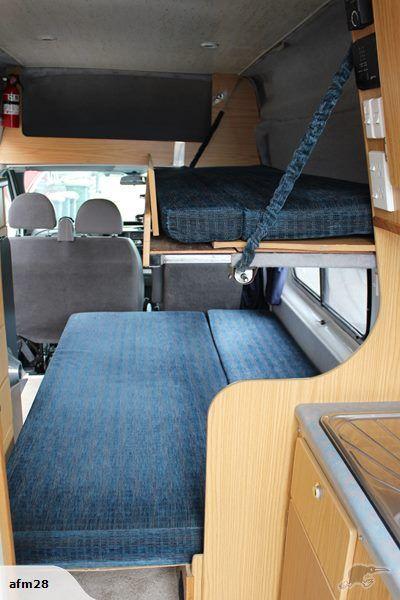 2001 Ford Transit 3 Berth 24 Litre Turbo Diesel En 2020 Avec Images Amenagement Camping Car