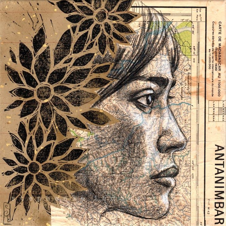 Stephanie Ledoux Carnets De Voyage Comment Dessiner Un Portrait Portrait Peinture Portrait Au Crayon