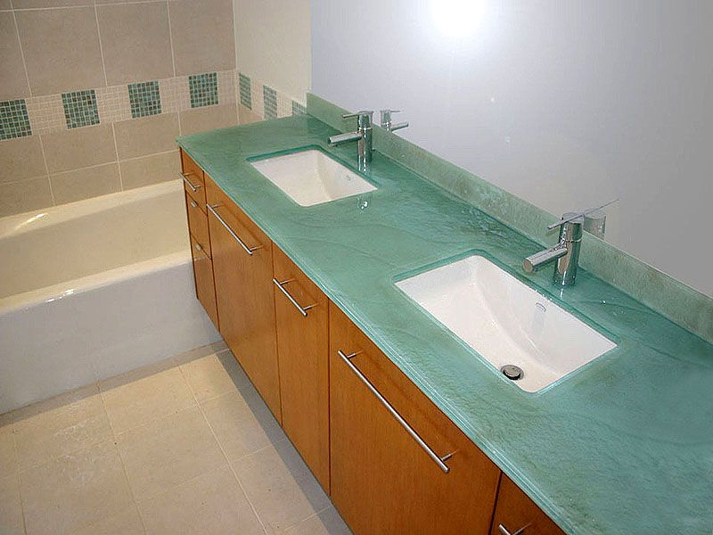 Textured Glass Countertop Colored Bc 26 Glass Countertops