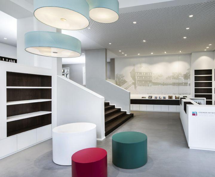 Architekten Esslingen tourist information office by dittel architekten esslingen