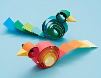 Birds Craft for kids
