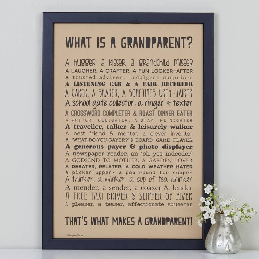 Image result for grandparents poem