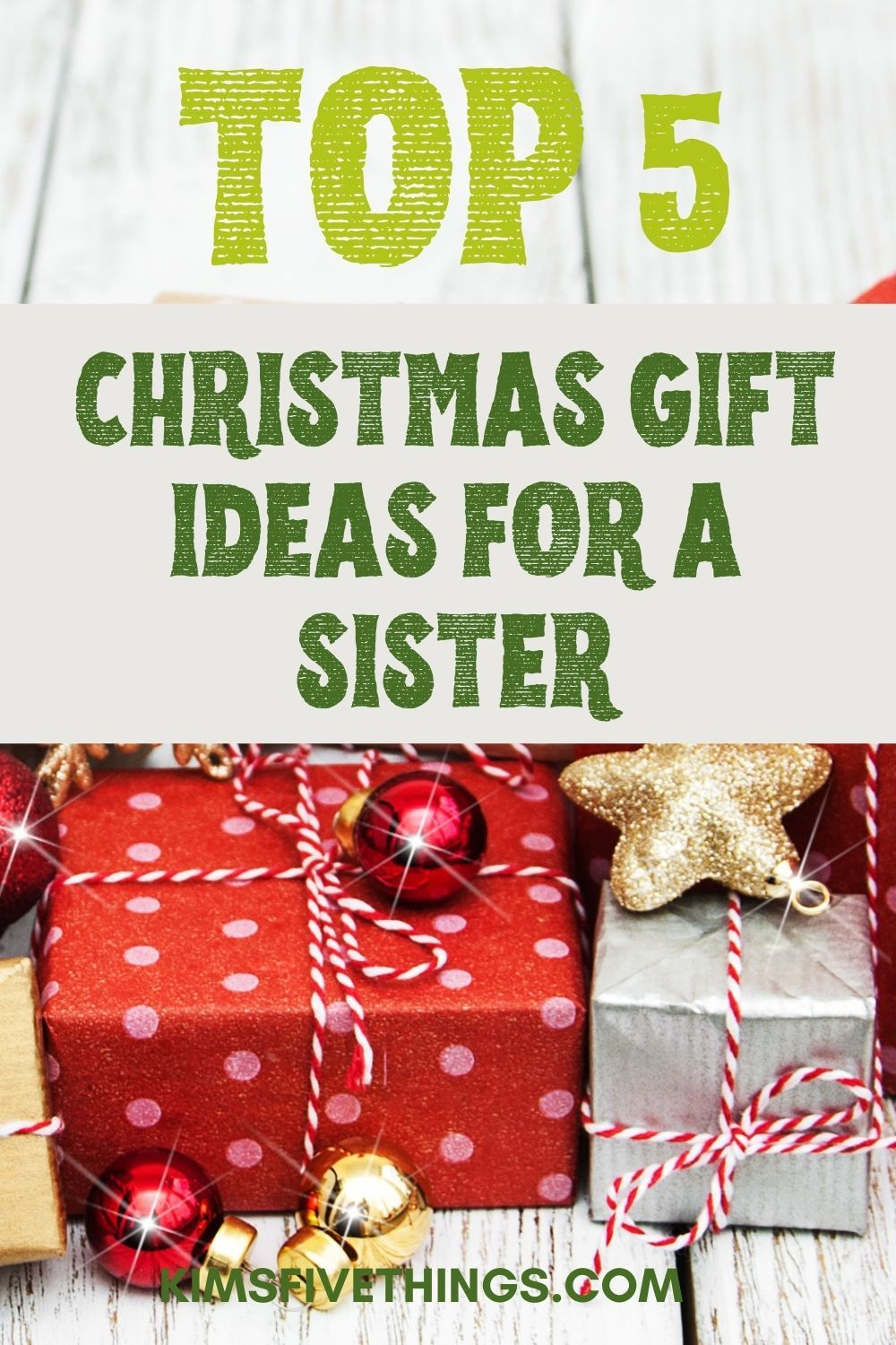 Best Christmas Gifts 2020 Sister Top 5 Best Christmas Gifts for Your Sister   Kims Home Ideas in