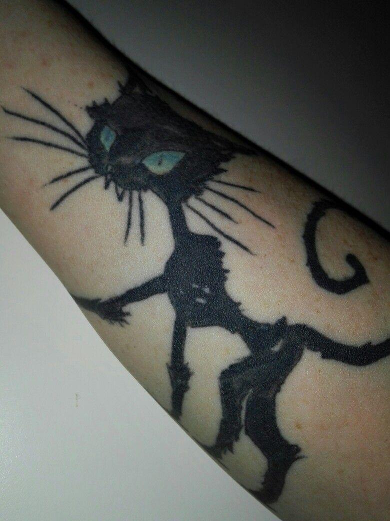 Coraline Black Cat Cat Tattoo Simple Cat Tattoo Designs Cat Tattoo
