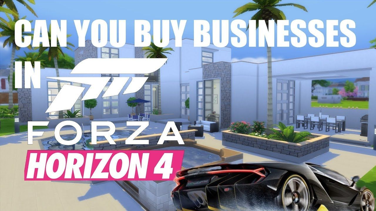 can you buy businesses in forza horizon 4 horizon stories. Black Bedroom Furniture Sets. Home Design Ideas
