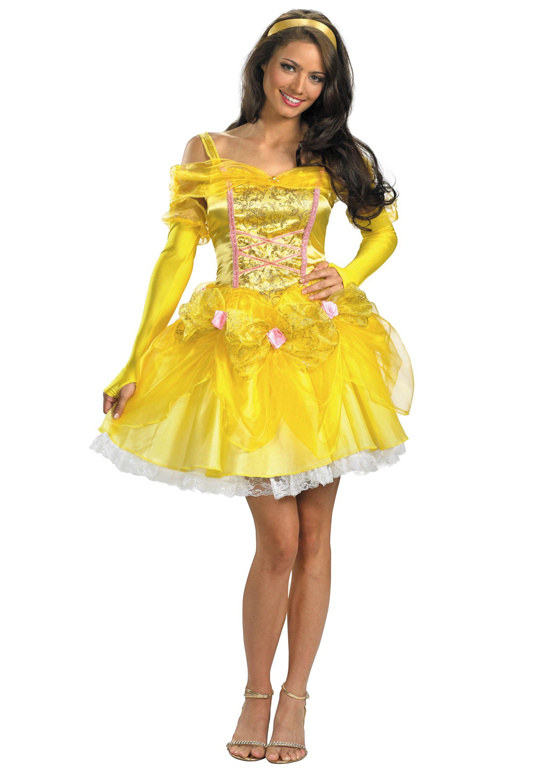 Sexy Princess Belle Costume  sc 1 st  Pinterest & Sexy Princess Belle Costume | Halloween | Pinterest | Princess belle ...