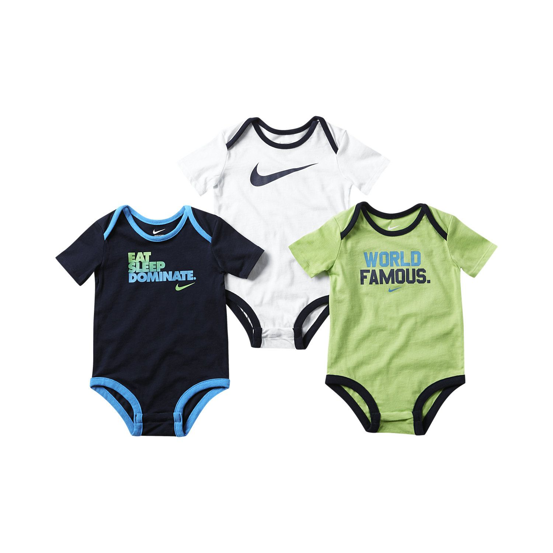 NIKE BABY BOYS INFANT BODY SUIT UNIVERSITY New