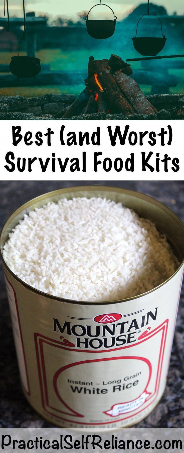 Best and worst survival food kits preparedness