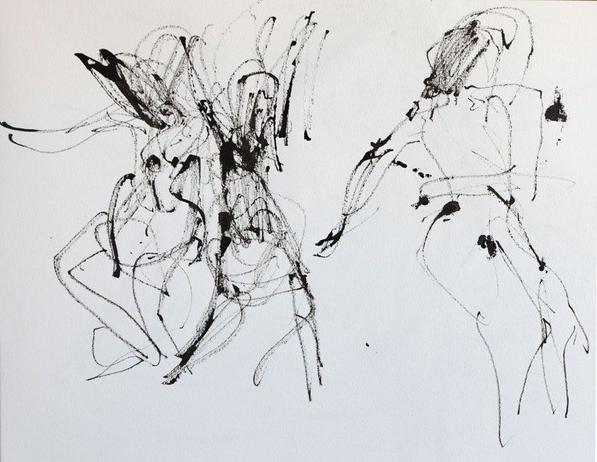 Sketching a dancer's movement   Michele Del Campo's Blog