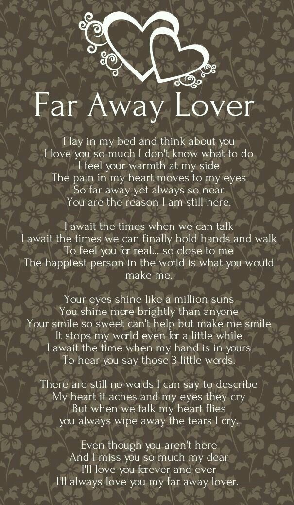 More ❤ | My Pumpkin | Long distance love poems, Love poem