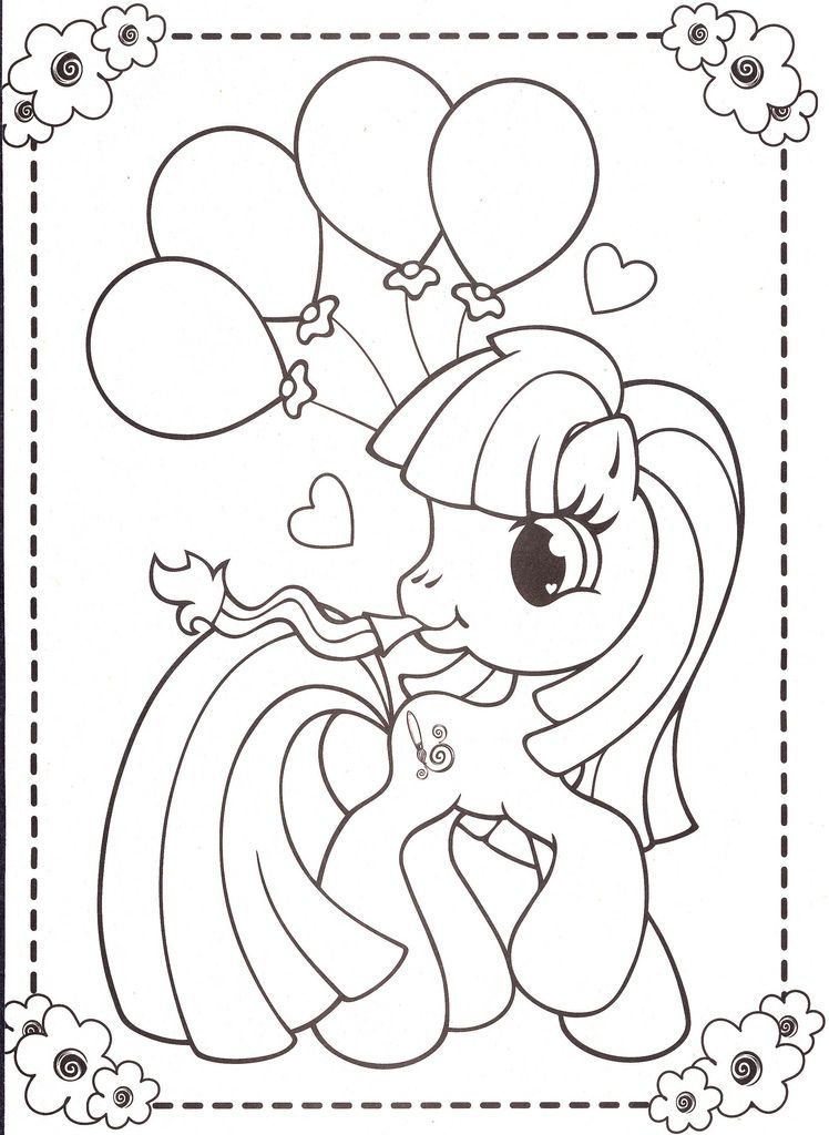 My Little Pony Coloring Pages 45 With Images My Little Pony Coloring Coloring Pages My Little Pony Birthday