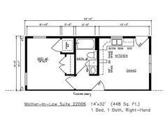 Building Modular General Housing Corporation Mother In Law Apartment In Law Suite Garage Apartment Floor Plans