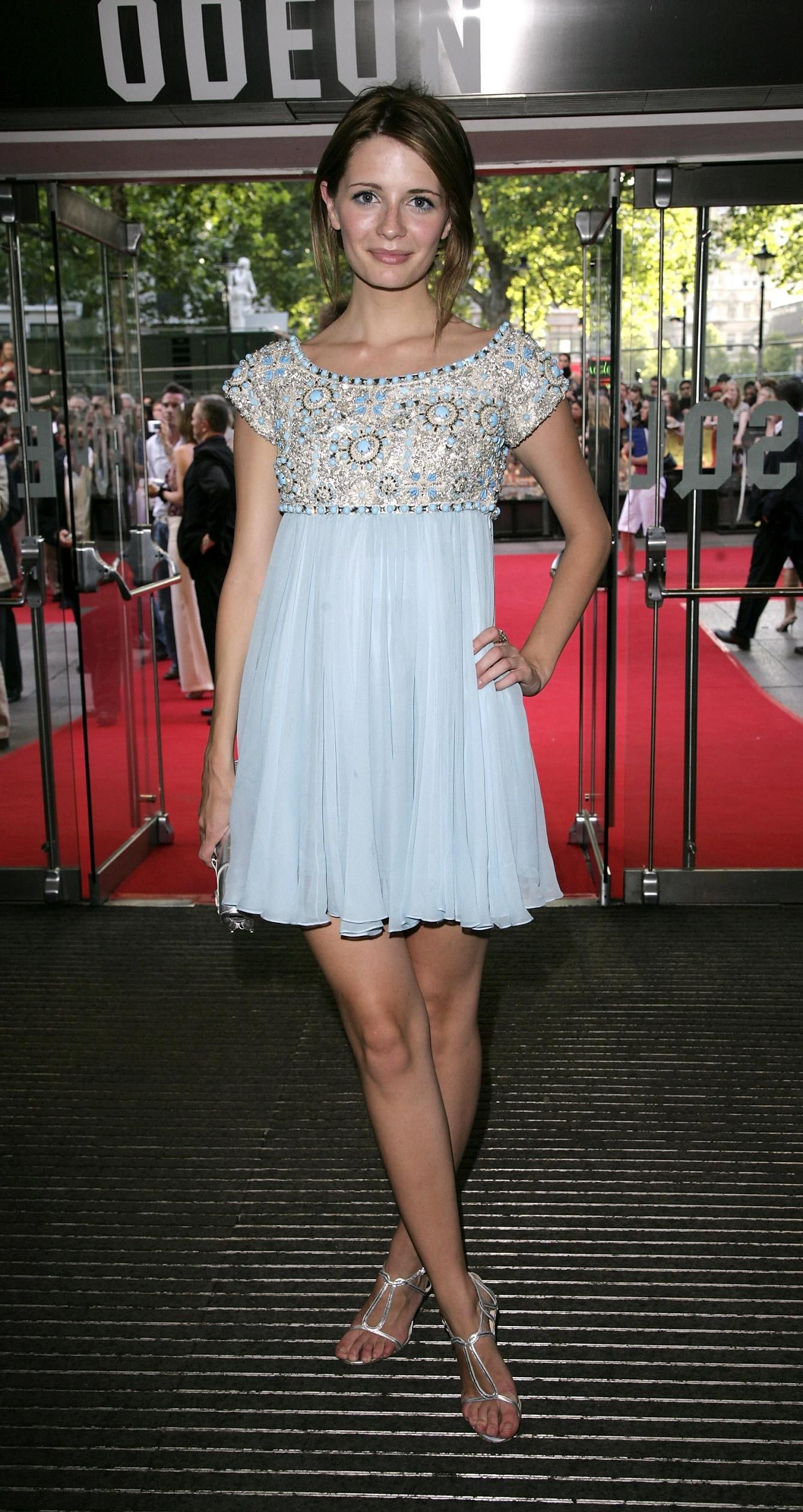 Roter Teppich Promis Mischa Barton In Marchesa 2006 London Premiere Of
