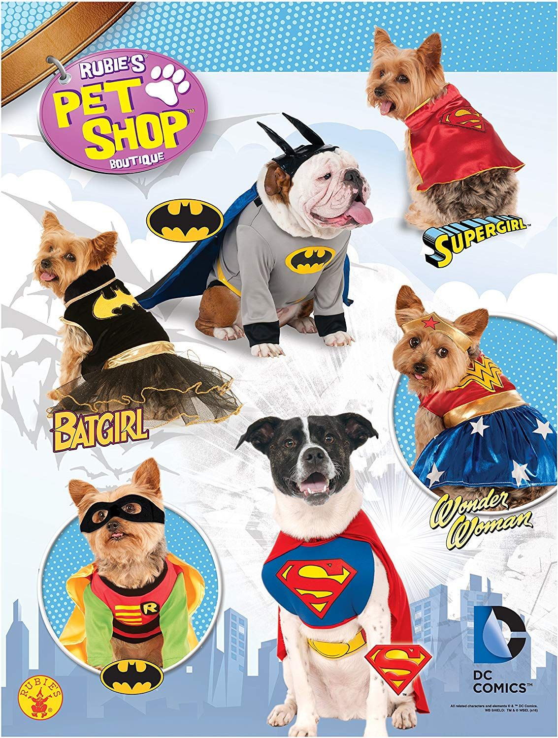 Amazon Com Rubie S Dc Comics Pet Costume Medium Wonder Woman Wonderwoman Dog Costume Pet Supplies Dog Dogs Funny Pet Costumes Santa Dog Costume Pets