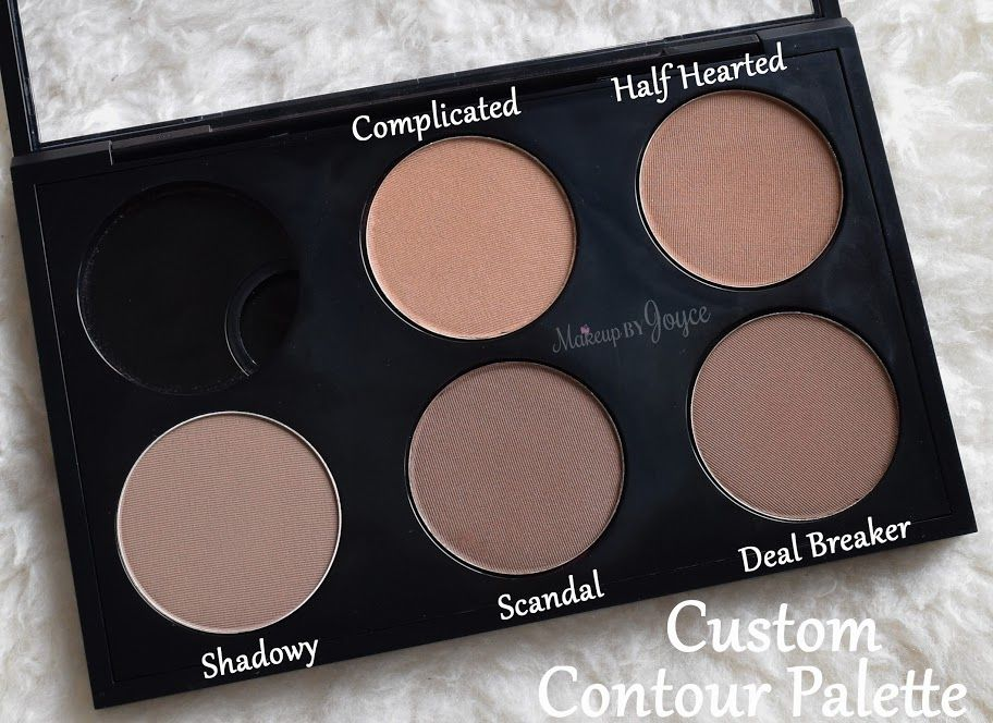 The Makeup Geek contour powders are available in refill pans (each retails $10 for 4.25
