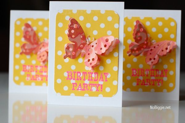17 Best images about Alissa – Butterfly Birthday Party Invitations
