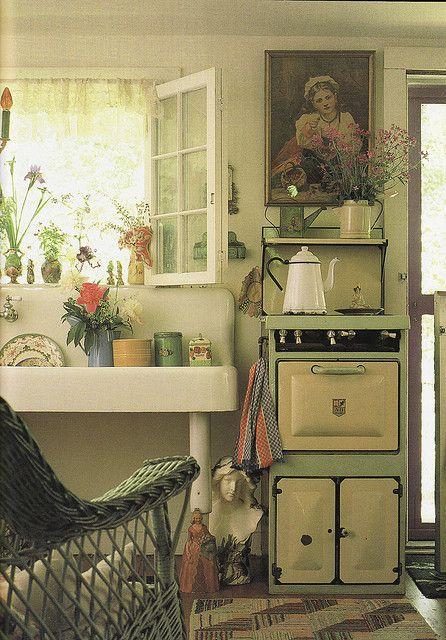 farmhouse kitchen Cuisines - Kitchens Pinterest Campagne