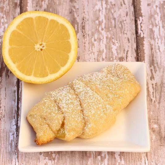 Easy Lemon Crescent Rolls Recipe!  Just 3 Ingredients!