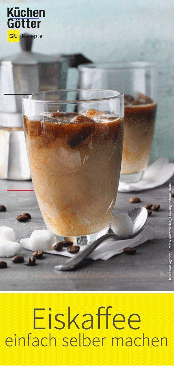 Eiskaffee mit Sahne Rezept raspberryvodka Cold Brew