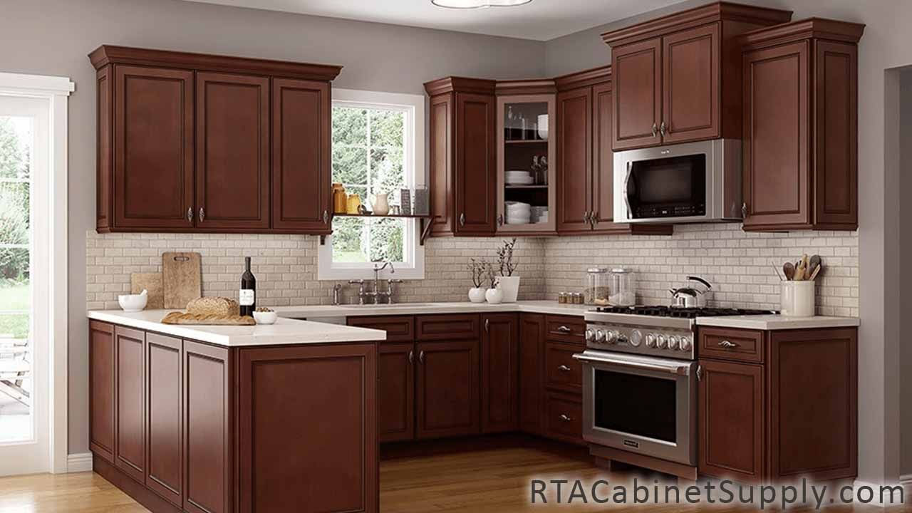 Best Chocolate Mahogany Rta Kitchen Cabinet Sets With Images 640 x 480
