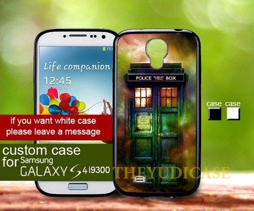 Tardis Fog - Samsung galaxy S4 Case | TheYudiCase - Accessories on ArtFire