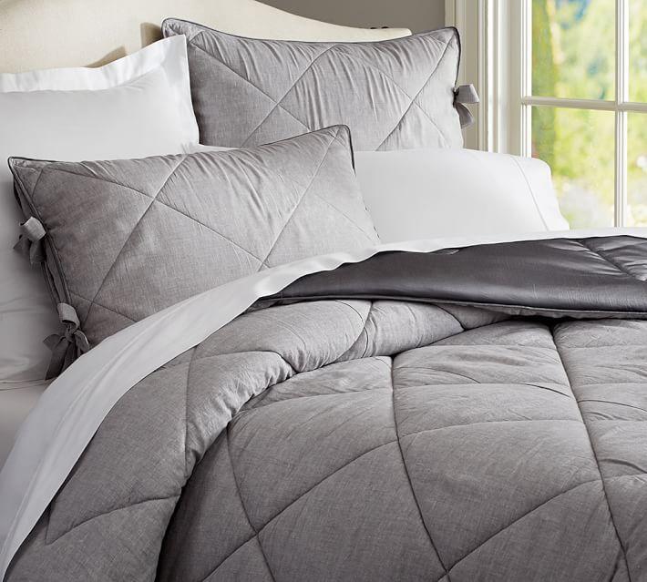 Linen Silk Shams Bed Linen Design Bedding Sets Neutral