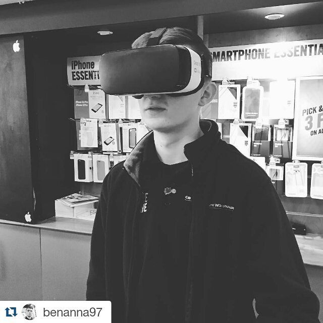 An awesome Virtual Reality pic! #Repost @benanna97 with @repostapp  Somtimes I love my job  #work #samsung #vr #virtualreality #carphone #warehouse #carphonewarehouse #like4like #likeforlike #follow #follow4follow #followforfollow #picoftheday #pictureoftheday #edge by dccareers check us out: http://bit.ly/1KyLetq