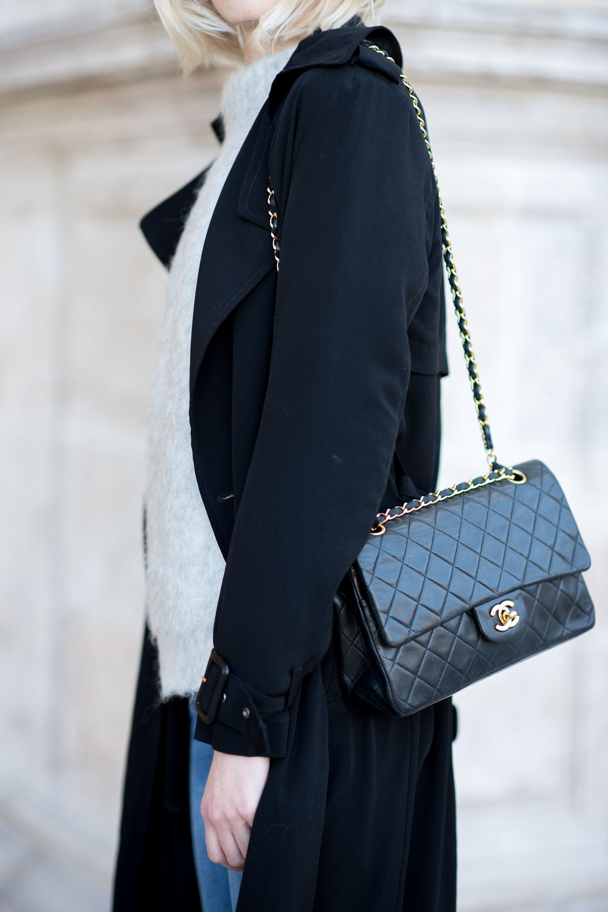 Vintage Chanel Flap bag / Anna Sofia - Style Plaza