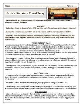 Pin On Teacher Pay Mz S English Essay Paradise Lost